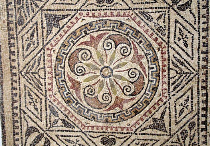 Los mosaicos geométricos de la ciudad libia de Sabratha. | Matemolivares