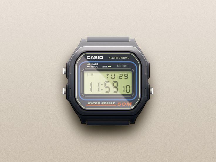 Casio Watch by Javi Pérez