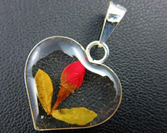 PRETTY FLOWERS SILVER PENDANT   GTJA 164 fashion jewellery