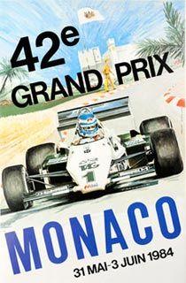 42| Grande Prix de Monaco, 1984