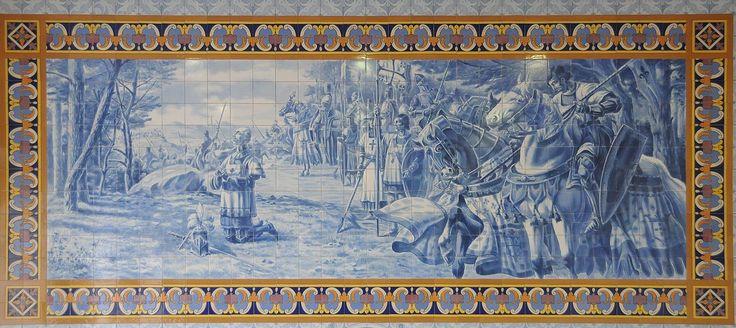 Jorge Colaço | Forjães | Centro Cultural / Cultural Centre Rodrigues de Faria | 1933 #Azulejo #Forjães #JorgeColaço