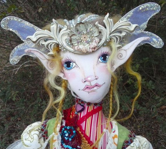 OOAK Fantasy Figure  Nidawi fairy  Original by paulasdollhouse, $399.00