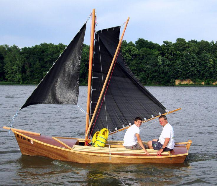 Inagua Sailing Sharpie Wooden Boat Plans Sailboat