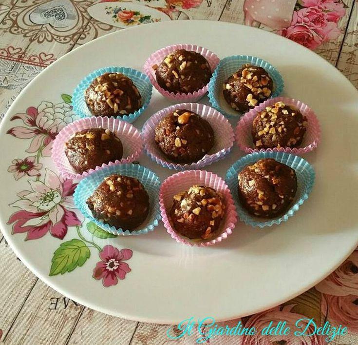 Dolcetti+con+biscotti+integrali+mascarpone+e+nutella