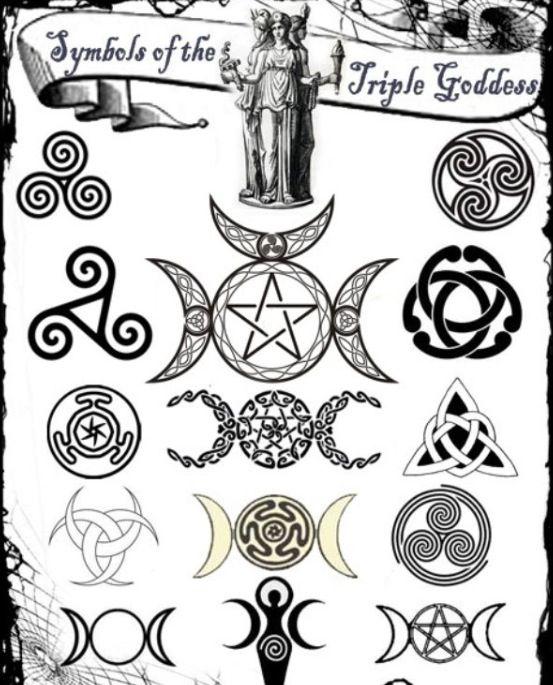 Goddess symbols
