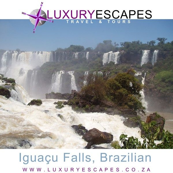 Todays amazing place the exquisite Iguazu Falls. The magnificent spectacle of these 275 individual drops has awed tourists and locals for centuries. Go see it for yourself! www.luxuryescapes.co.za