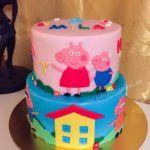 Peppa Pig Geburtstagstorte