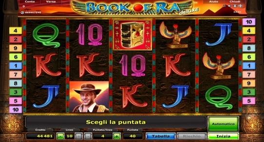 Book Of Ra - gratis o soldi veri   Novomatic giochi di slot machine online