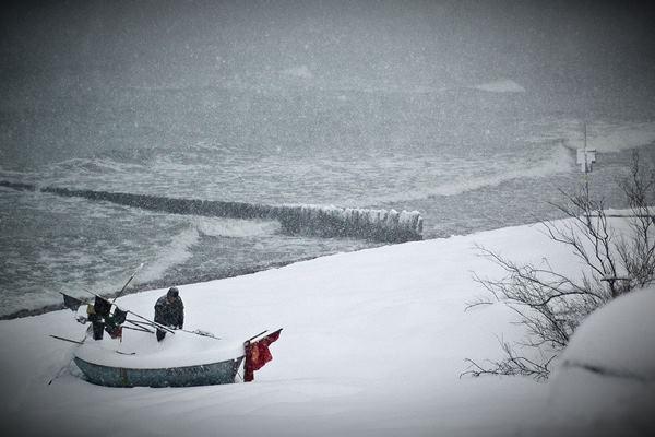Bałtyk zima 21012