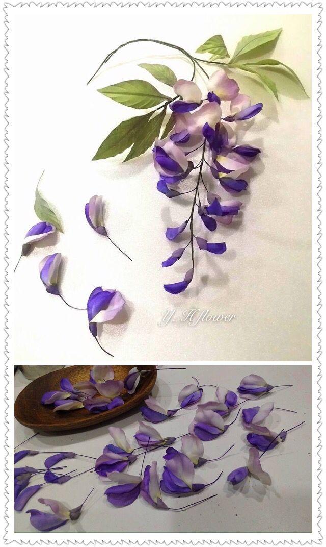 紫籐花 @ 英華藝術造花