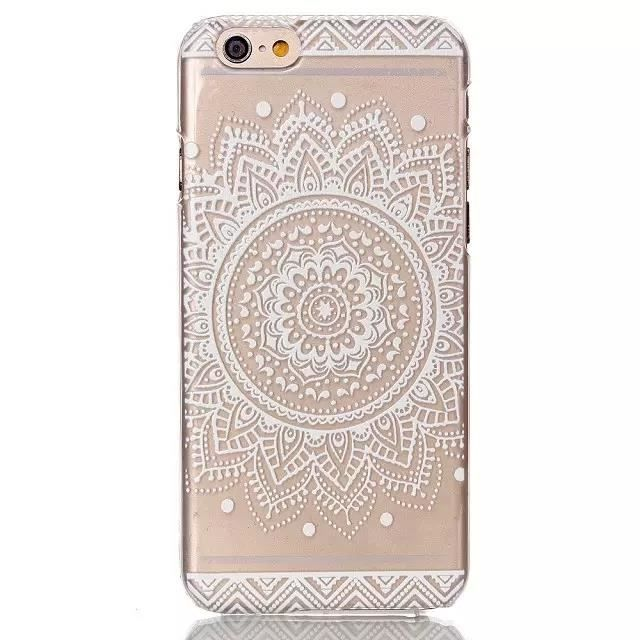 VG® Apple iPhone 6 4.7 Pouces Mandala Coque Silicone Gel TPU
