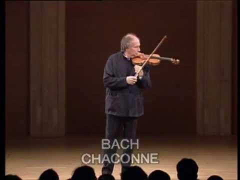 Ivry Gitlis @ BACH Chaconne BWV 1004 - live 1990