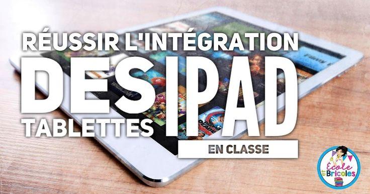 De plus en plus, les tablettes numériques font leur entrée dans les institutions scolaires. Malheureusement, on s'empresse parfois de les...