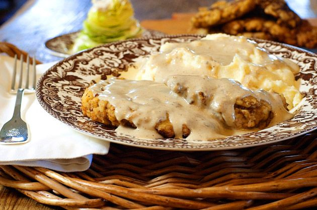 chicken fried steak - Very good, although I didn't try the gravy.