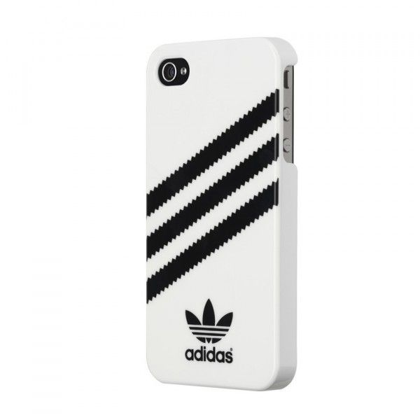 adidas case Basic logo case dress your smartphone in iconic street style with this adidas originals case the case features a hard, durable backplate and a resilient bumper made of soft, flexible tpu to help safeguard your phone against impact and wear and tear.