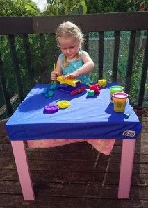 Mud Mates Fitted Tablecloth product review by The Baby View