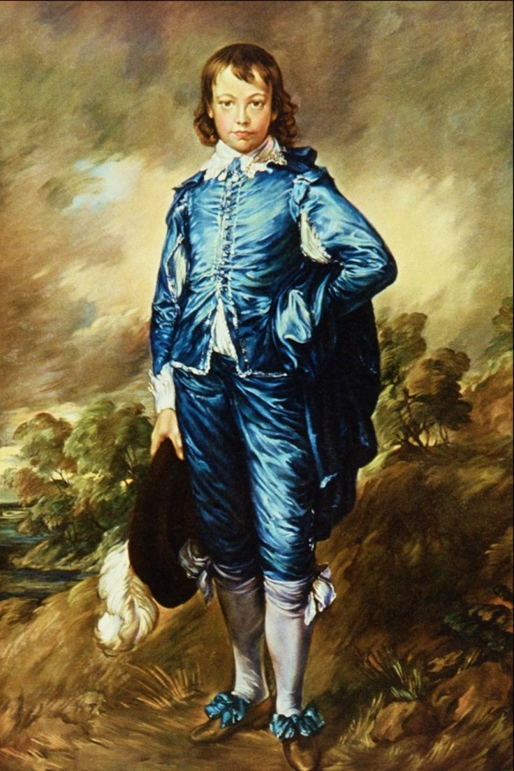 """Original Blue Boy Painting 