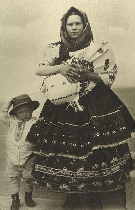 A Slovak woman and her son, one of millions of families who fled Hungarian persecution to America in the late 19th and early 20th centuries