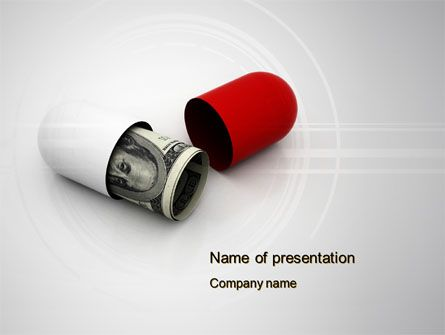 http://www.pptstar.com/powerpoint/template/money-pill/ Money Pill Presentation Template