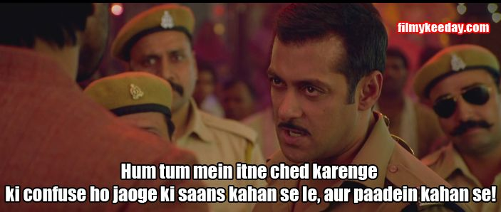 Salman Khan! 6 Awesome Unbeatable Dialogues Which Are Still A Big Hit