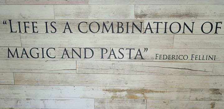 Magic & pasta | Zizzi Hereford, 2014