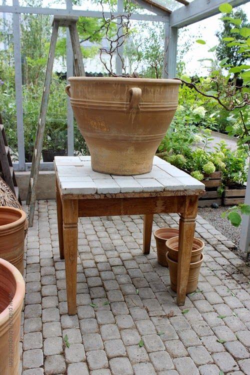 Piazzan: Växthus på Zetas finsmakarens trädgård  #piazzanblogg #Växthus #garden #botanica #trädgård #inredning #photobypernilla