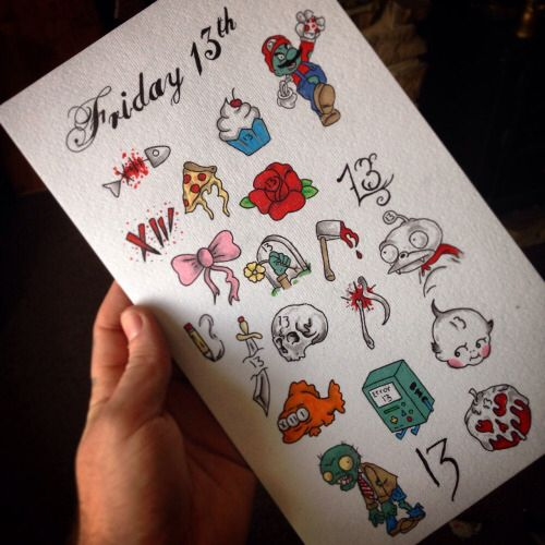 Friday 13th Tattoo Ideas: 59 Best Images About Friday 13th Tattoos Ideas On