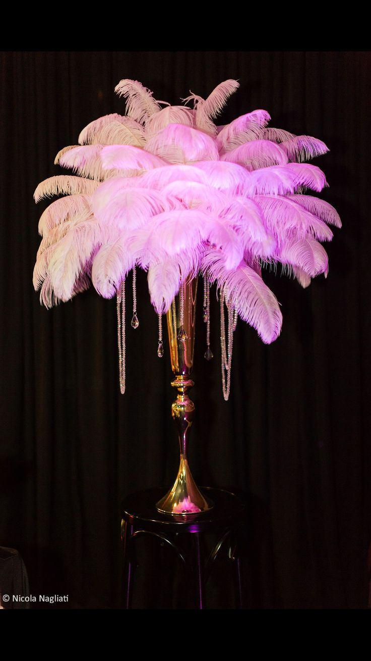 Great Gatsby themed party centerpiece by Elana K Weddings in Sydney, Australia for #annettesroaring21st