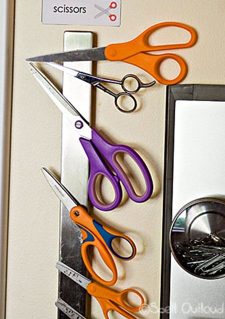 Craft Storage Ideas-this website has different ideas of storing smaller craft items.