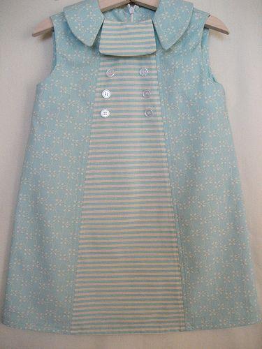 Blue Collar Dress by hart+sew, via Flickr