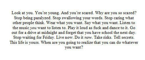 ...: Music, Young Life, Remember This, Inspiration, Quotes, Skin Products, True, Carpe Diem, Good Advice