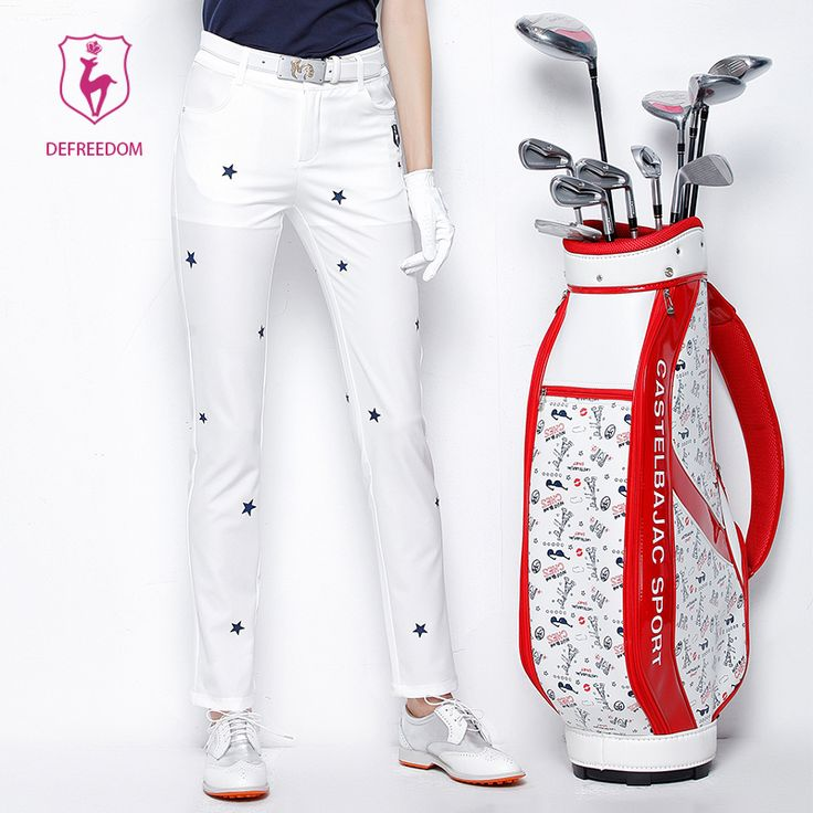 SUMMER spring women golf pants golf clothing Brand quick-drying breathable ladies golf trousers  220171