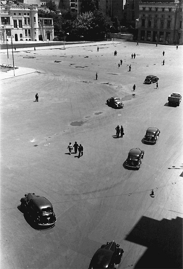 Piața Palatului în 1941.  Foto: Willy Pragher