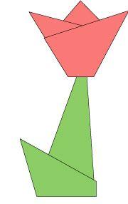 origami-tulp