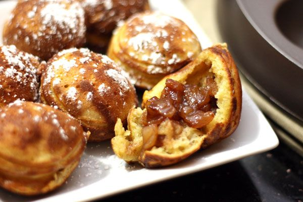 Ebelskivers with Spiced Apple Filling | Breakfast & Brunch-Doughnuts ...