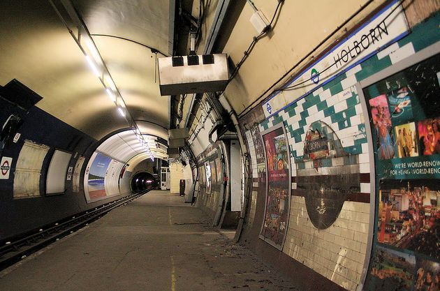 London Underline: Reusing Abandoned Tube Stations and Tunnels as Subterranean Cycle Paths