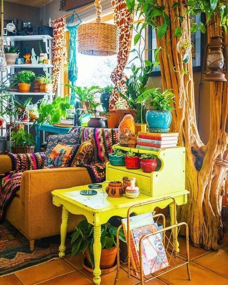 Perfectly Applying Bohemian Living Room Design