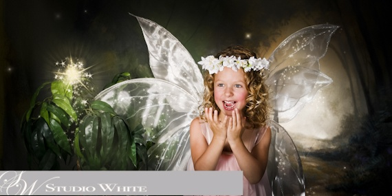 Mystical Creations by Studio White  ~Delighted Fairy~