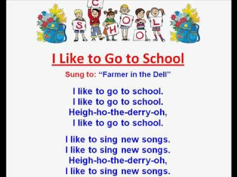 I Like to Go to School (Back to School Rhymes & Songs)