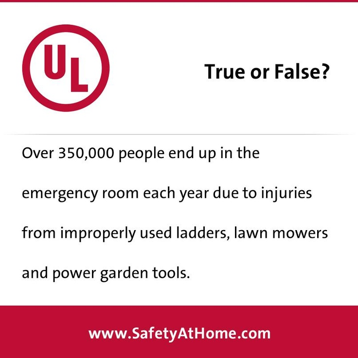 Learn more DIY safety information at www.SafetyAtHome.com