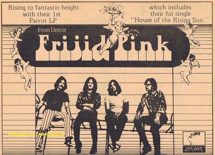 Frijid Pink's first album