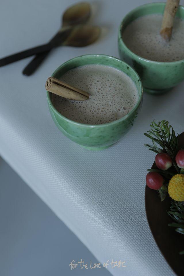 Pecan christmas nutmilk drink - dairy free_raw