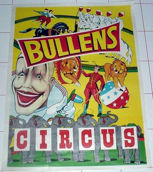 Bullen's Circus Australia. We have to be related to these Bullens
