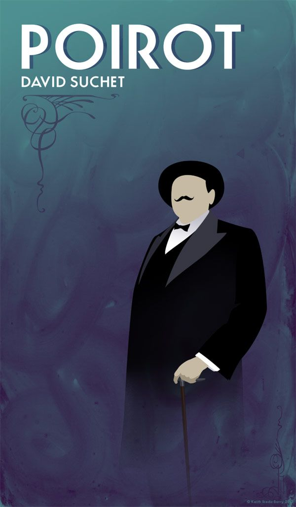 Hercule Poirot mysteries by Agatha Christie