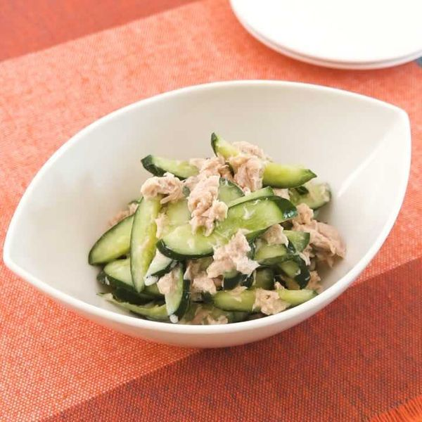 さっぱりとした味わい きゅうりとツナのフレンチ和えのレシピ動画 作り方 Delish Kitchen レシピ レシピ きゅうり 動画レシピ