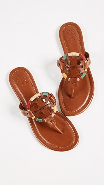 1c417b19062fb Tory Burch Miller Embroidered Sandals
