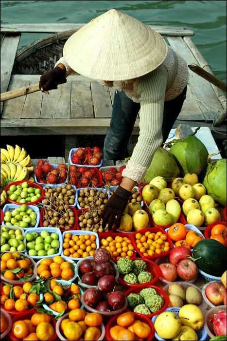 Like all tropical countries, Vietnam has a wide variety of exotic fruit