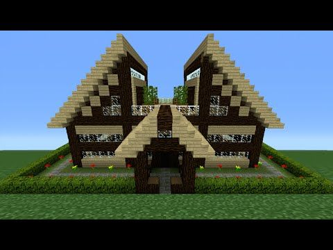 684 best minecraft images on pinterest minecraft ideas minecraft tutorial how to make a wooden house 12 youtube ccuart Images