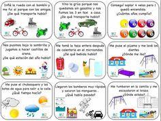 INFERENCIAS SENCILLAS CON IMÁGENES. 9 actividades para trabajarlas.