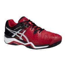 Zapatillas de padel Asics Gel Resolution 6 Clay Rojas Negras - Asics pádel al mejor precio